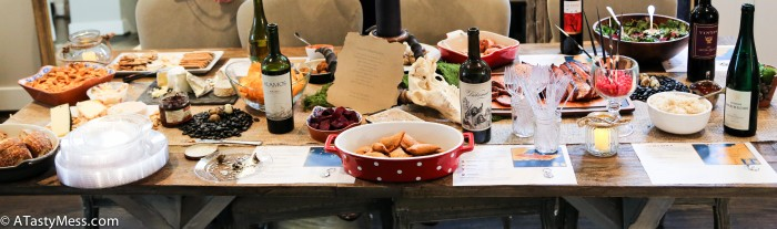 Game of Thrones Premiere Party Table via Atastymess.com